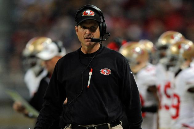 San Francisco 49ers: Harbaugh Proud of Team's Effort in New England