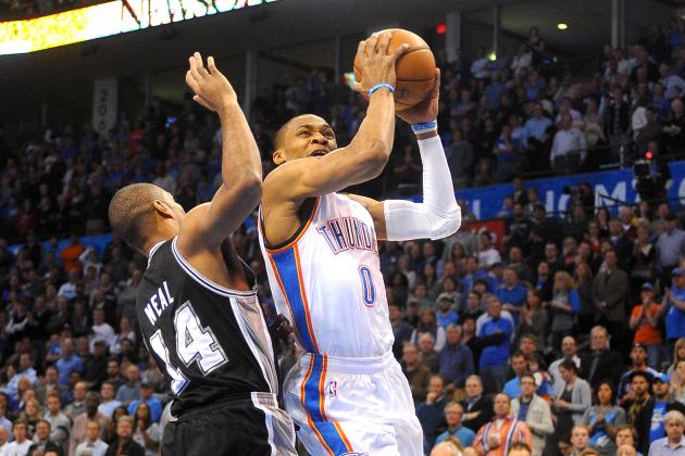 San Antonio Spurs vs. OKC Thunder: Live Blog, Results and Game Highlights