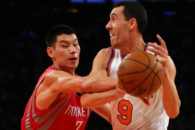 Lin Keys Rockets' Win over Melo-Less Knicks
