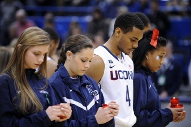 Video: UConn Honors Newtown