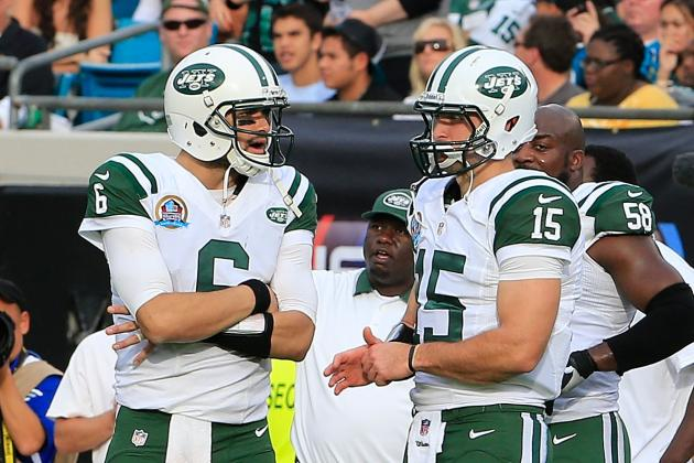 Rounding Up Twitter Reaction to Jets Quarterback Mess