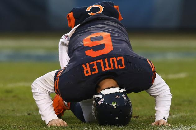 Cutler's Season Is in Flames, but Bears Are Holding the Gas Can