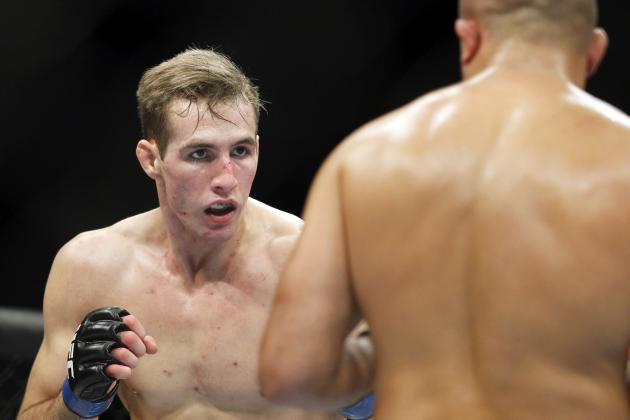 UFC's Rory MacDonald on Taunting BJ Penn: 'I Never Said One Word to Him'