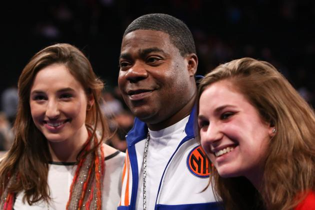 Best Tweets of the Night as Tracy Morgan Takes Over NY Knicks Twitter Account
