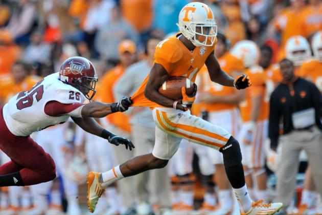 What Happens If Tennessee Loses Both Its Star Receivers to NFL Draft?