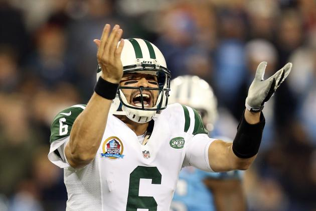 Jets vs. Titans: Mark Sanchez Proves He's Not Cut out for Starting QB Job on MNF