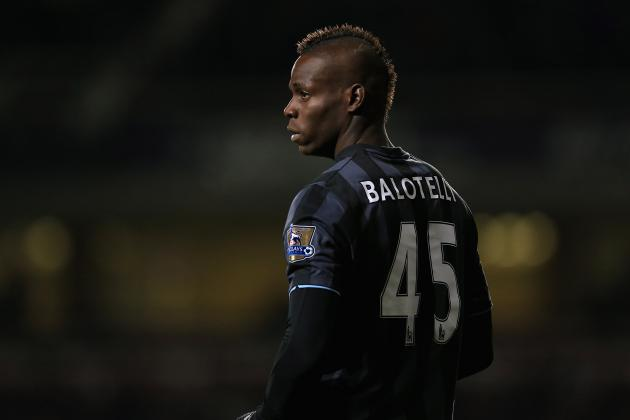 Mario Balotelli out in the Cold Ahead of Transfer Window