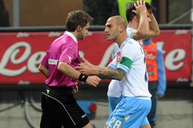 Match Fixing Latest: Napoli Handed 2-Point Deduction in Italy's Serie A