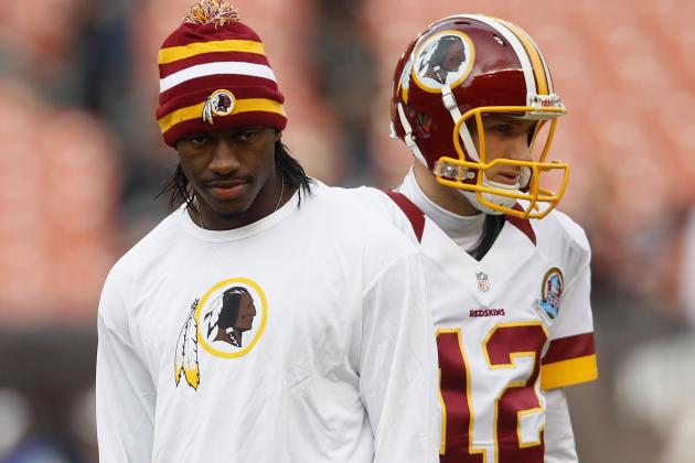 Robert Griffin III: Redskins Should Start Kirk Cousins vs. Struggling Eagles