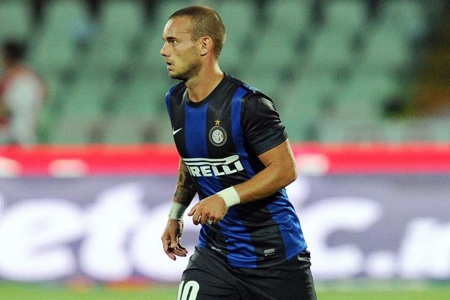 Inter Send Wesley Sneijder Home Early