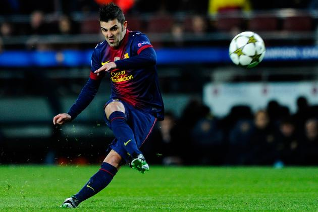 Manchester City Eye Barcelona Forward Villa as Balotelli Edges Towards Exit