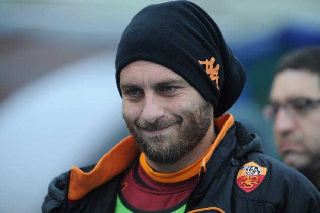 Roma Issue Hands off Warning over Manchester City 'target' Daniele De Rossi