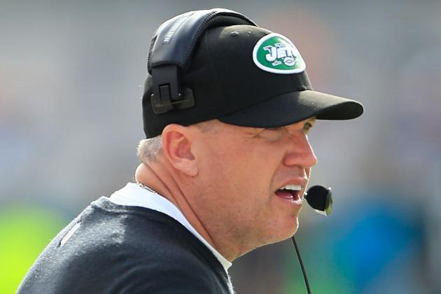 Rex Ryan: Beleaguered Head Coach Isn't Main Issue for Jets