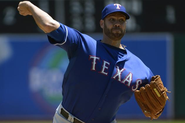 Colby Lewis Cleared to Begin Throwing After Surgery