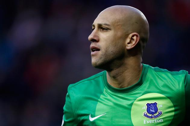 Tim Howard Hits Another Big Milestone for Everton