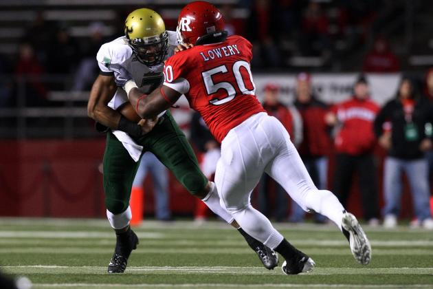 For Rutgers Football Guard Antwan Lowery, Having Fun Makes All the Difference
