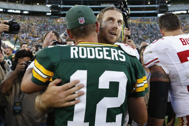 Aaron Rodgers Says Alex Smith Needs to Be 'Appreciated'