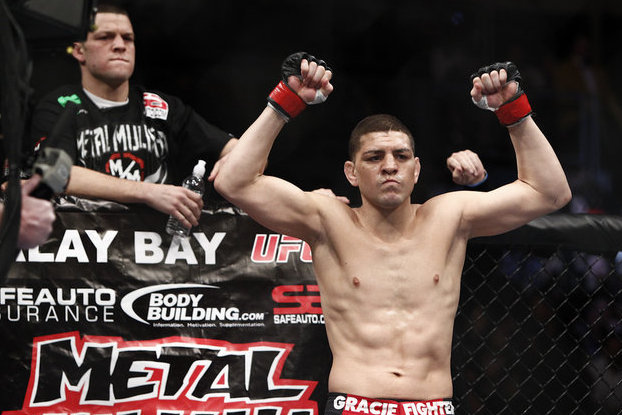 Georges St-Pierre solid favorite over Nick Diaz in early line