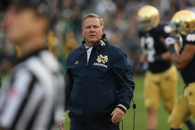 Alabama vs. Notre Dame: Will Brian Kelly Ever Reach Nick Saban Status?