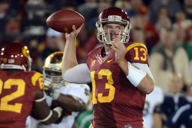 USC Commences 2013 Quarterback Duel in Sun Bowl Prep