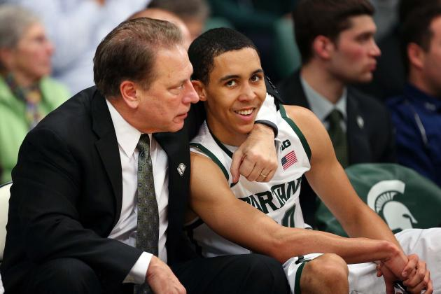 Michigan State Hoops Coach Tom Izzo Says His Team Is 'hungry'