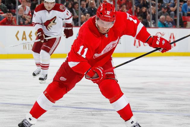 5 Red Wings Participating in Toronto Charity Game