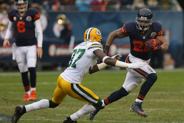 Matt Forte's Performance Inside 5-Yard Line Proves Bears Need Big Back
