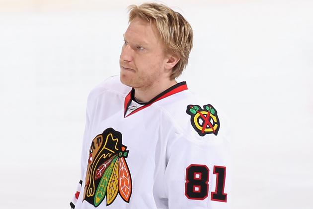 Hossa Returns to Chicago, Happy to Be Cleared