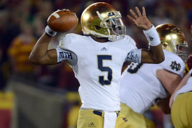 Notre Dame vs. Alabama: What the Irish Need from Everett Golson to Beat the Tide