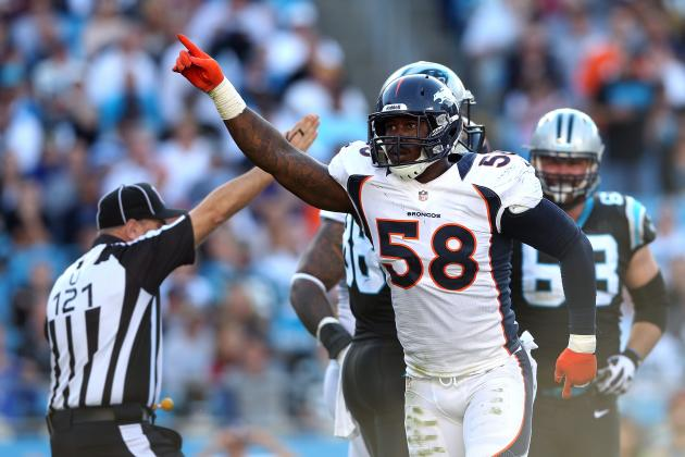 Why Von Miller Deserves as Much Credit as Peyton Manning for Broncos' Success