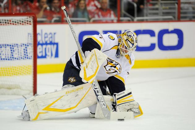 Minor Injury Hampers Lightning Goalie Anders Lindback