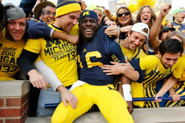 Michigan Football: How Denard Robinson Should Be Used in the 2013 Outback Bowl