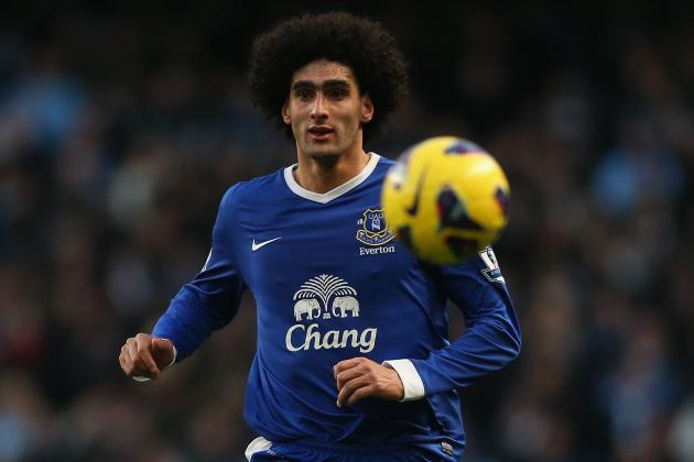 Chelsea Chasing Tough-Guy Fellaini