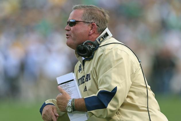 Notre Dame Football: Will Brian Kelly Overdo Game Plan with Month to Prepare?