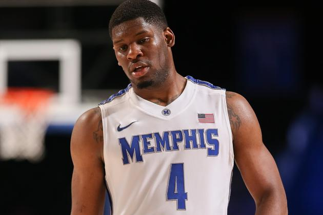 Memphis Sticking with Adonis Thomas, Despite Subpar Performance vs. Louisville