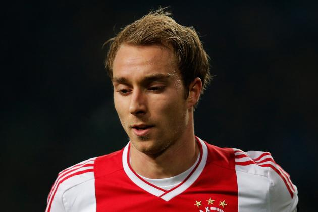 Transfer News: Ajax Playmaker Christian Eriksen Plays Down Link to Tottenham