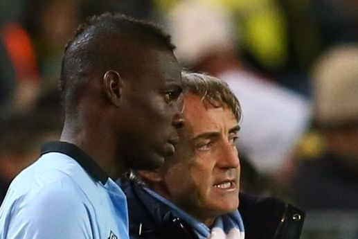 Olive Branch: Mancini Says Balotelli CAN Be a Part of Man City's Future