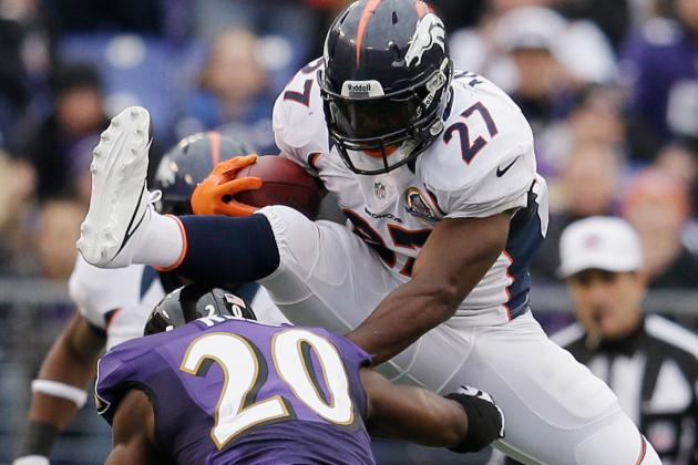 Denver Broncos' Backfield Trio Will Key Postseason Success