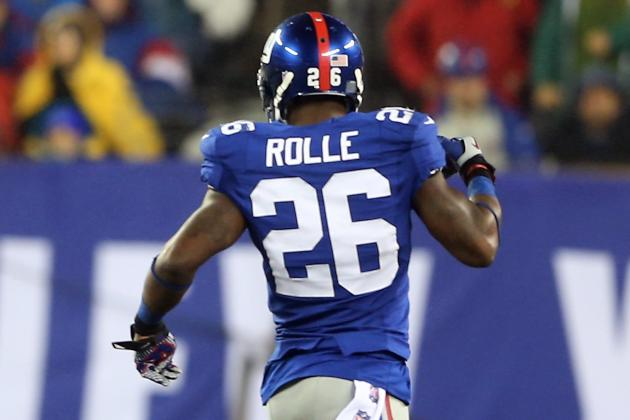 Antrel Rolle: 'I Was Abslutely Horrified with the Way I Played'