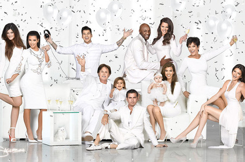 Kardashian Christmas Card Features Photoshopped Khloe and Lamar Odom