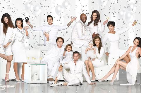 Kardashian Christmas Card Features Photoshopped Khloe and Lamar Odom