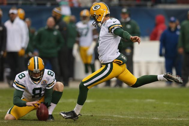 Green Bay Packers Sticking with Struggling Kicker Mason Crosby