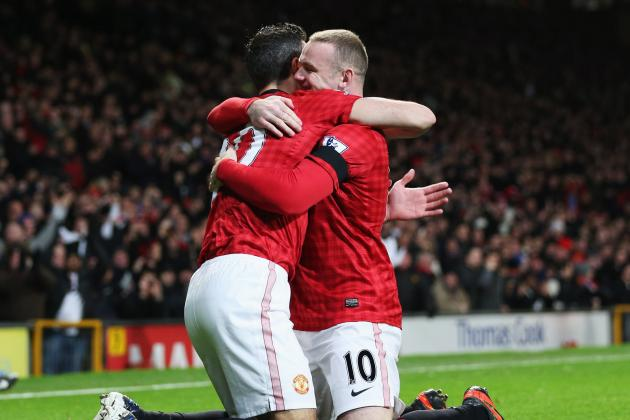 Which Manchester United Formation Can Include Kagawa, Rooney, RvP and Hernandez?