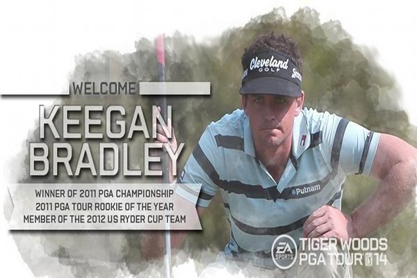 Tiger Woods PGA Tour 14: Keegan Bradley Announced as Part of Game's Roster