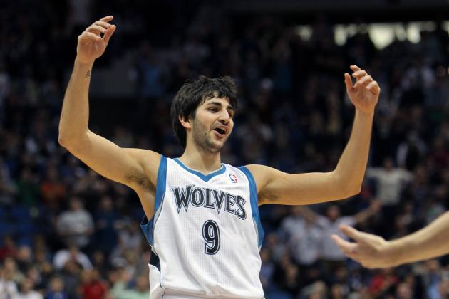Ricky Rubio + Alexey Shved = All-Star Backcourt for Minnesota Timberwolves