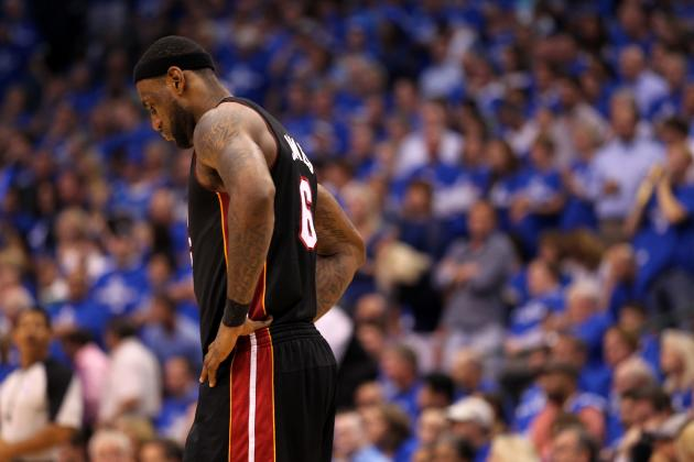 What a Bad Night for Heat's LeBron James Looks Like