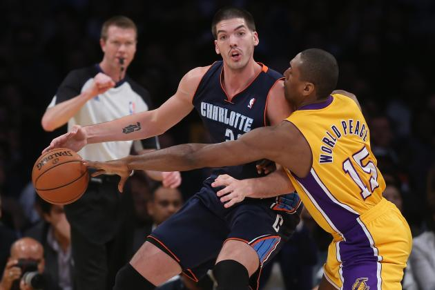 Four Shots, Four Misses: Charlotte Bobcats Fall to L.A. Lakers 101-100