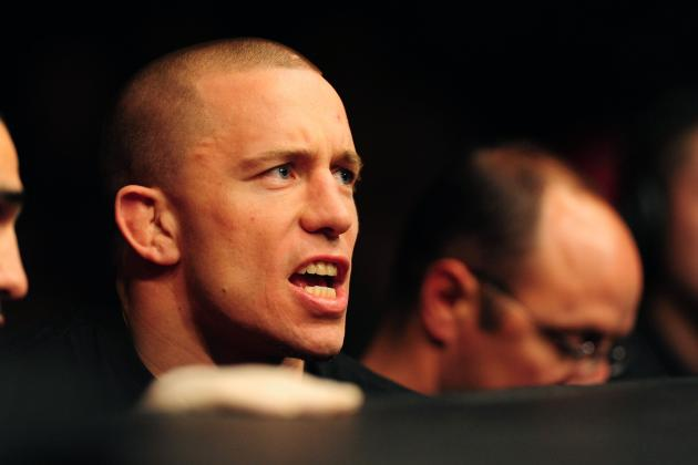 Will Georges St-Pierre's Unhealthy Obsession with Nick Diaz Cost Him His Title?