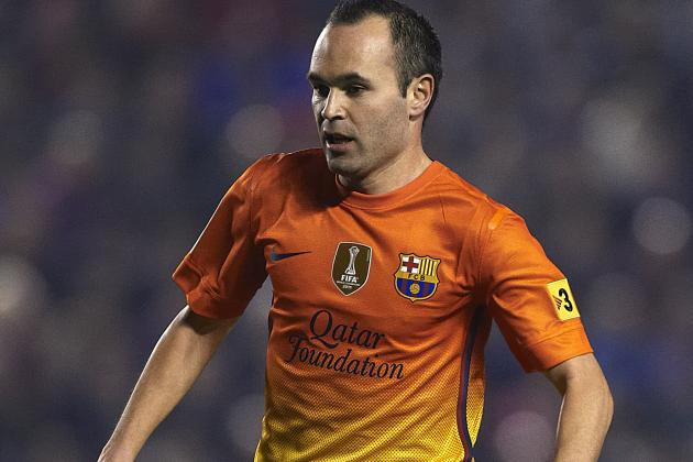 Zlatan Ibrahimovic Backs Andres Iniesta for Ballon d'Or