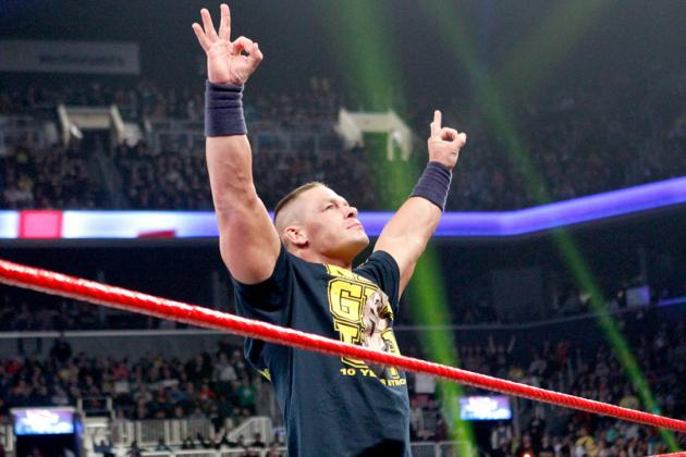 Why WWE Fans Should Not Care About John Cena's Slammy Award Win on Raw